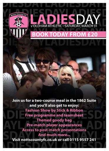 NCFC Ladies Day Poster