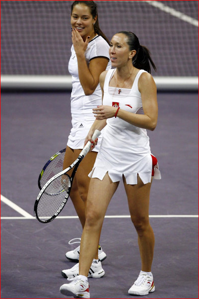 JJ & Ivanovic doubles for Serbia in the Federation Cup