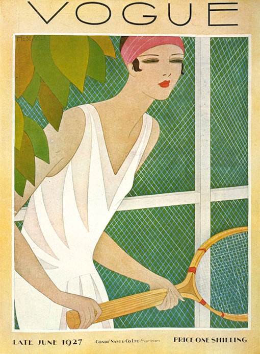The cover of Vogue 1927