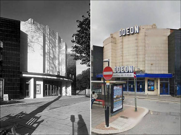 Then and now images of the Odeon Muswell Hill