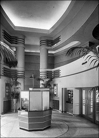 The foyer and pay box Odeon Muswell Hill