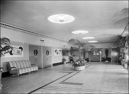 Lobby of Odeon at Well Hall 1936