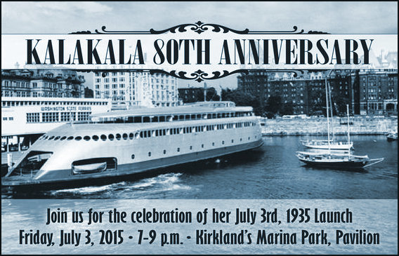 RV Kalakal celebrating its 80th anniversary in 2015