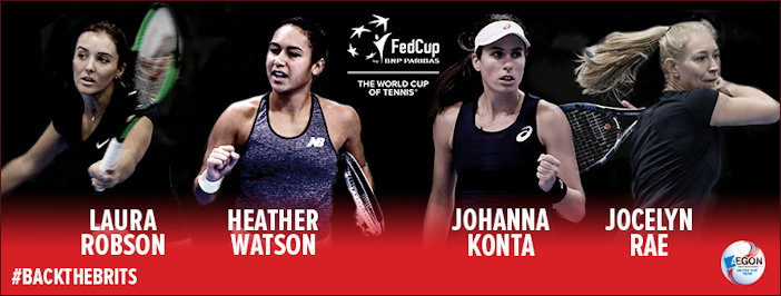 Named Fed Cup players for 2017