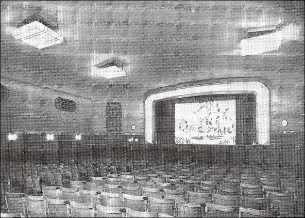 Auditorium of the Odeon Kingstanding