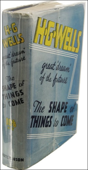 First edition of the H G Well THings to Come