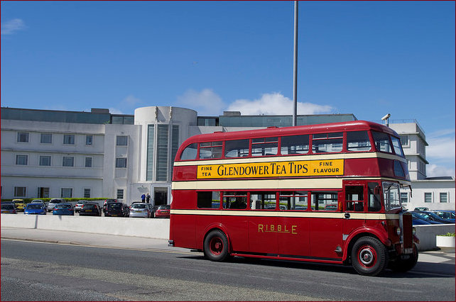 Restored Vintage Double Decker Bus 2017