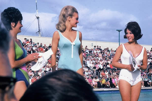 Final contestants 1968 Miss GB