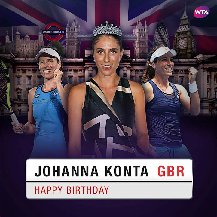 Happy Birthday Jo Konta