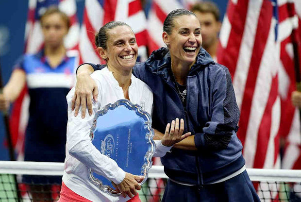 Pennetta and da Vinci making Italian Tennis history