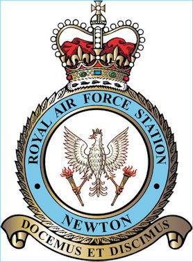 RAF Newton Polish Badge
