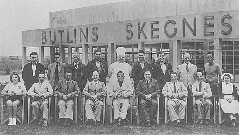 The Butlins Team in 1937