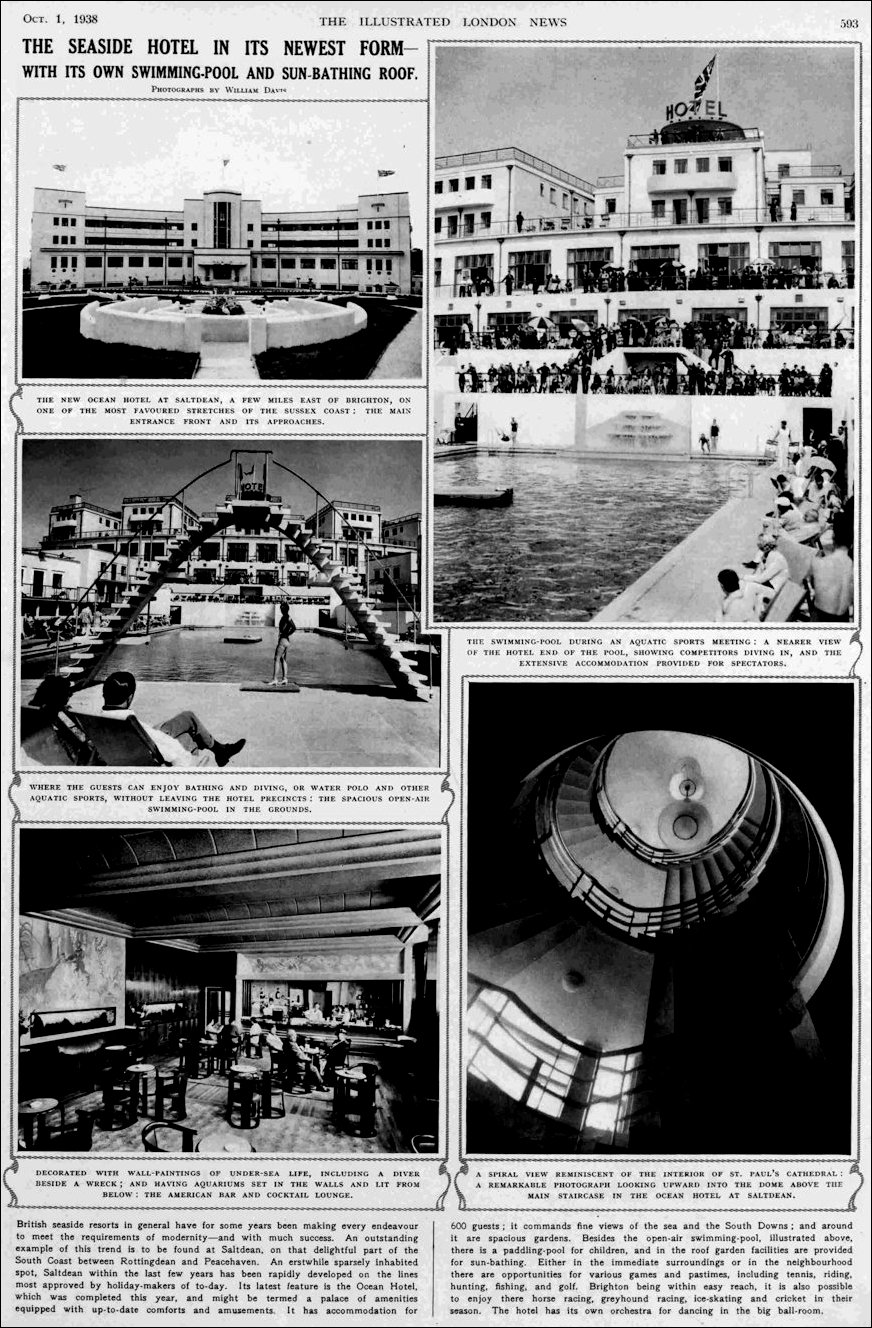 Illustrated London News Ocean Overview 1938