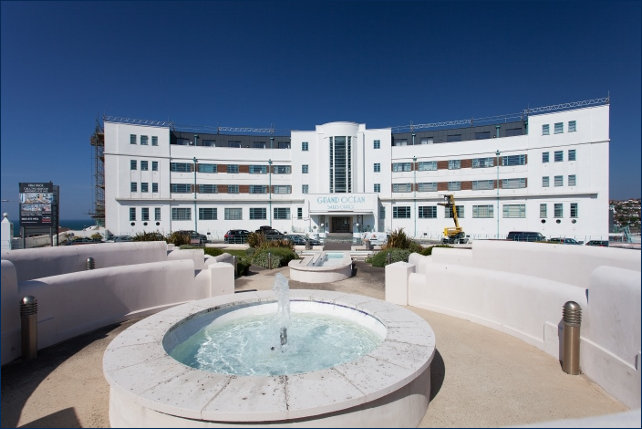 A fully refurbished Ocean Hotel