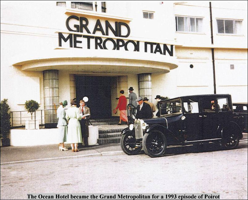 The Grand Ocean transformed into the Grand Metropolitan for an episode of Poirot
