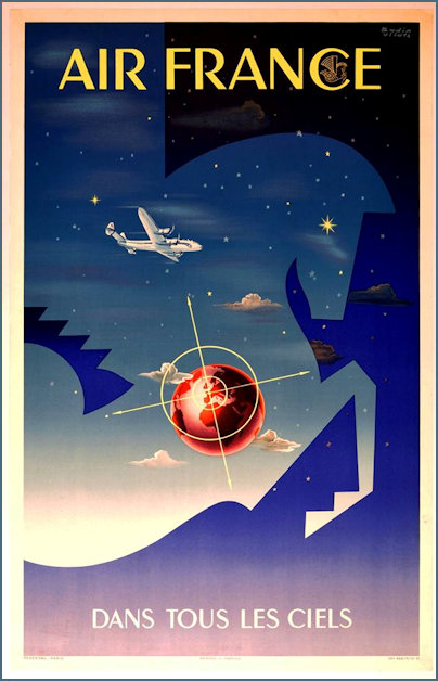 Air France poster from the period