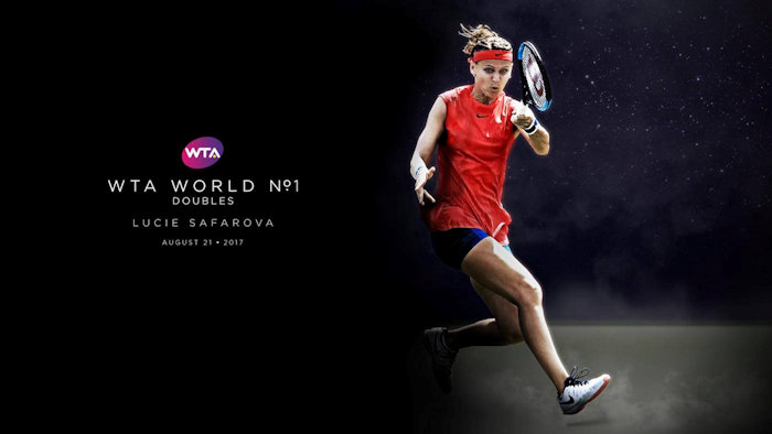 Safarova confirmed as Doubles No 1
