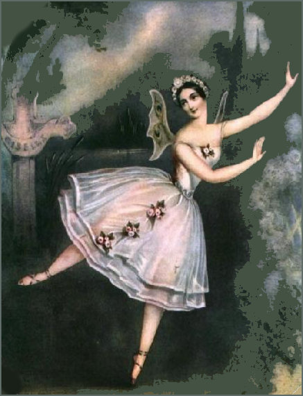 Grisi as Giselle