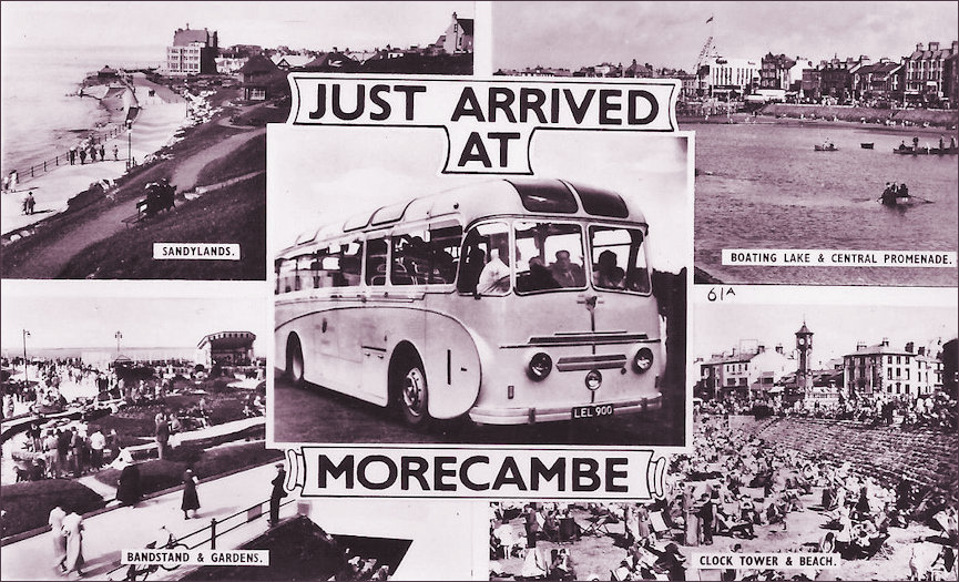 Just arrived at Morecambe