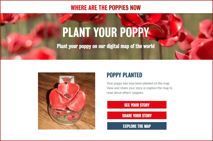 Marysia's Poppy Planted confirmation