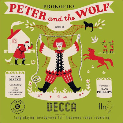 Prokofiev Peter and the Wolf Slavic style