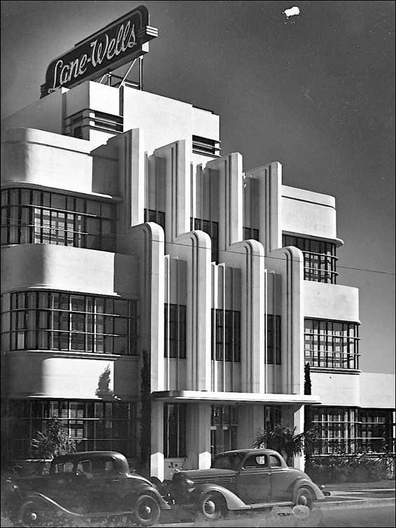 Interesting art deco us the lane wells building los angeles malvernweather Image collections