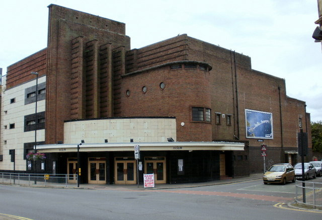 Left unoccupied Newport Odeon after 2009