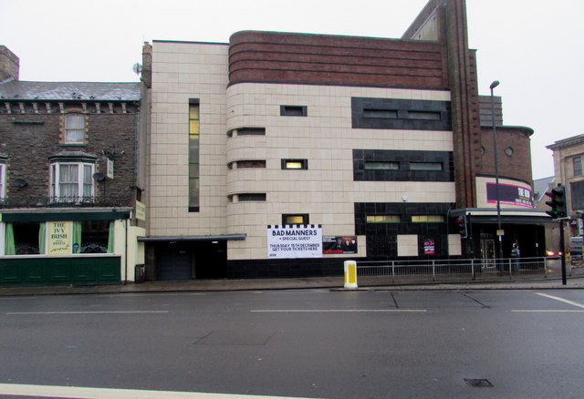 Odeon at Newport restored