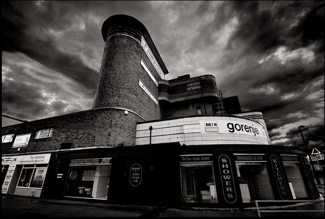 Atmospheric Odeon ain Morecambe