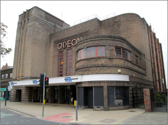 2017 view of the Odeon in York