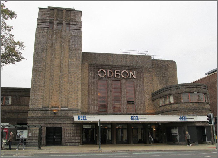 York Odeon Cinema from the road