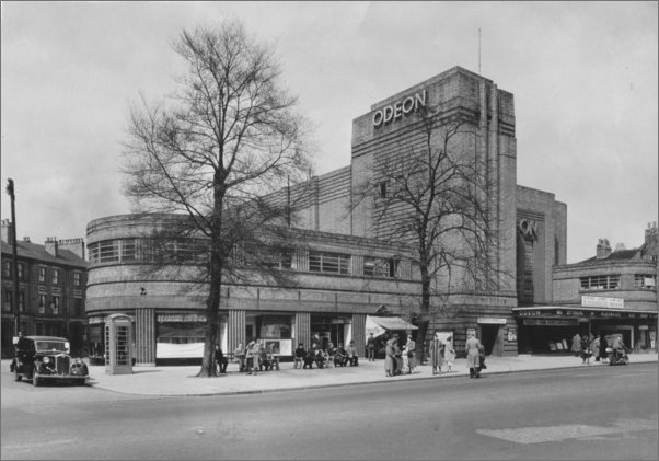 1940s view of the York Odeon