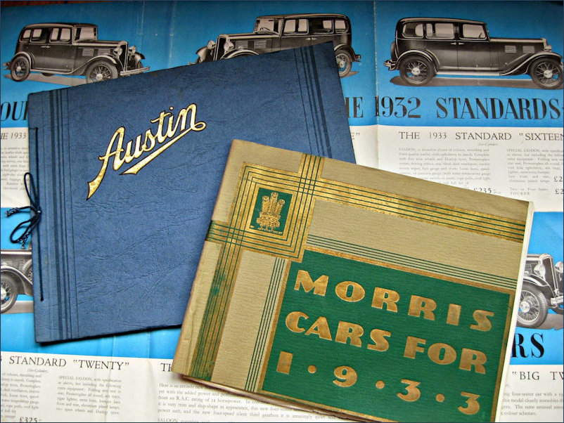 Austin and Morris Travelogs from 1933