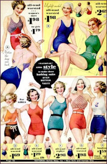 1934 swimsuits