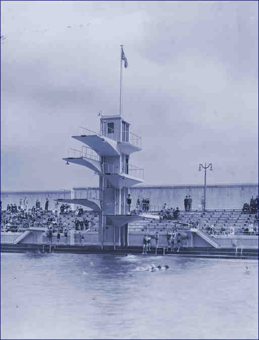 Open air lidos for Portobello outdoor swimming pool
