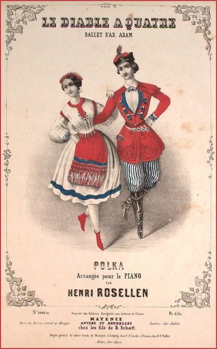 Polka attributed to Rosellen