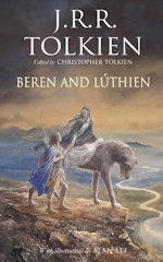 JRR Tolkein Bereb and Luthien front cover