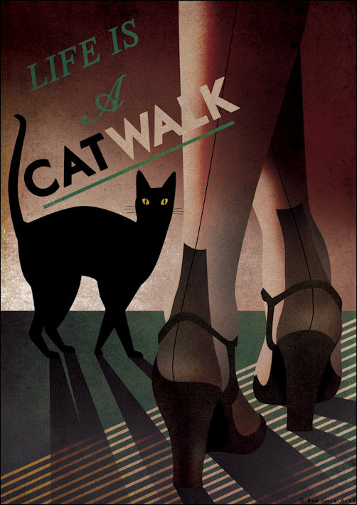 Cat Walk Ad
