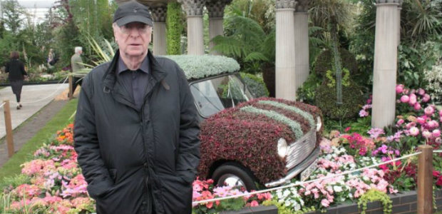 Michael Caine and Mini