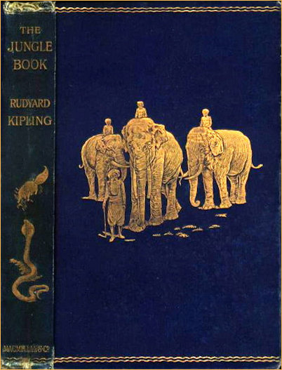 First edition Jungle Book by Rydyard Kipling
