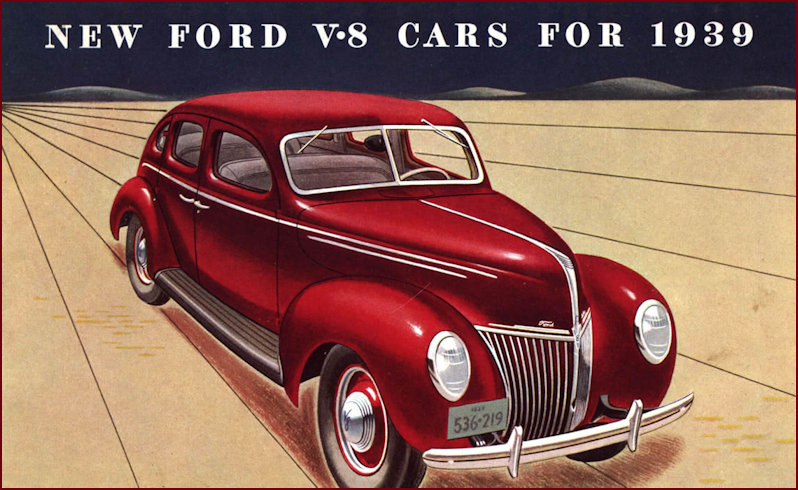 1939 Ford deluxe brochure version