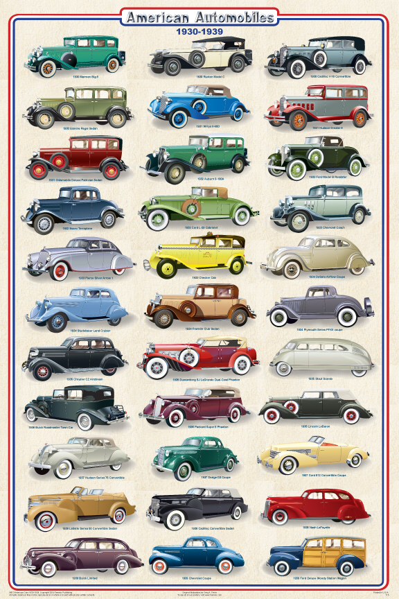 A decade of Cars 1930-39