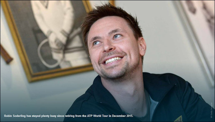 Robin Soderling Life after Tennis