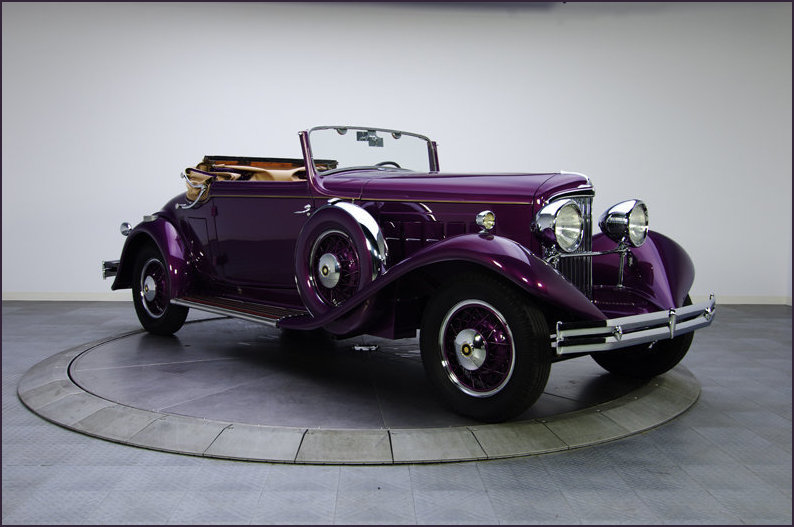 The 1931 Reo Royale hood down