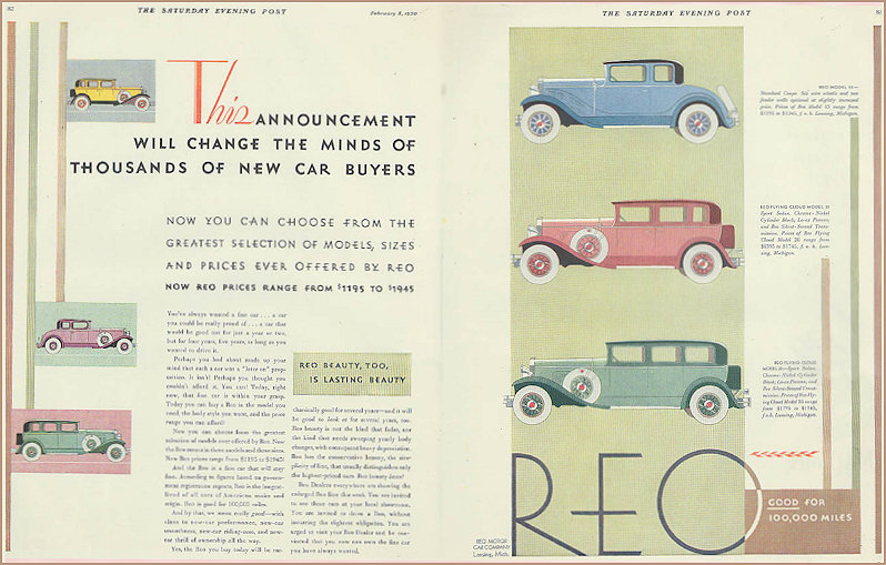 The Reo Royale Advertisement