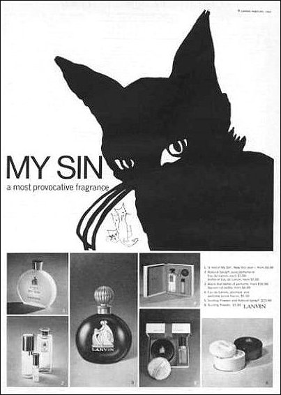 My Sin Product advert for Lanvin
