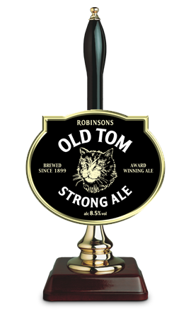 Old Tom Strong Ale Handpump