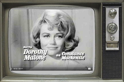 Dorothy Malone as Constance Mackenzie
