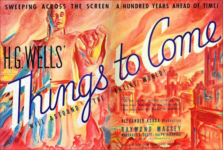 Rare poster Things to Come 1936
