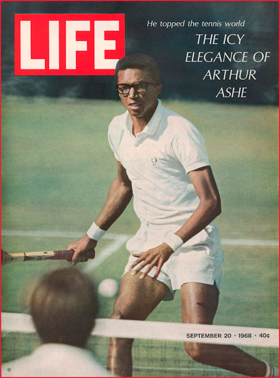 Arthur Ashe Time Magazine 1968